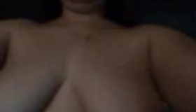 Sexy Topless Girl Does It All