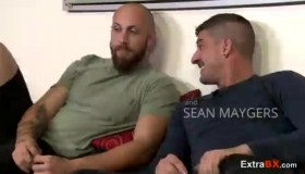 Busty Many Bearded Queens BFFs Moaning And Fucking