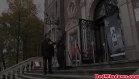 Dutch Whore Rides A Client