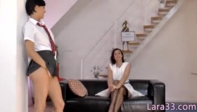 Young English Schoolgirl Nailed Hard By Her Longhaired Friend