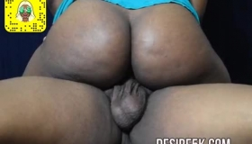 Black Woman With Glasses And Big Tits, Carmen Callaway Is Getting Fucked Hard, While In A Hotel Room