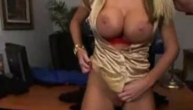 Large Breasted Anime Girl Masturbating