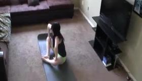 Naughty Amateur Teen, Danielle Fucks Her Bestie