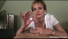 Banking Lady Sonia Is Giving Her Tight Ass Fingered And Rim-job Before Having A Hardcore Threesome