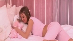 Brazilian Pink Sex Slave Is Being Trained To Suck Her Lover's Large Cock, Once In A While