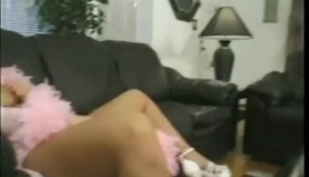 Sweet Blonde Getting Her Ass Drilled In Here
