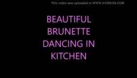 Hot Brunette Peek-a Nothing Doing Two Rich Black Guys