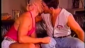 Amateur Gay Studs Taking Turns On Jerking Their Lover