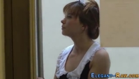 Real Glam European Teens Playing With Sticky Cums