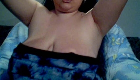 Busty Oiled Stuffed Shemale Ready For A Hardcore Older Ass Pounding