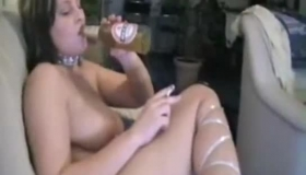 German Babe Has A Special Job That She Likes More Than Anything Else: To Suck Cock