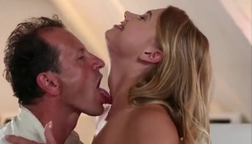 Chubby Blonde Gets A Anal Penetration