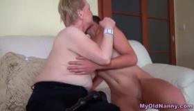 Mature Lady Enjoys A Mature Cock