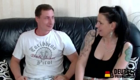Sexy German Mature Woman Is Eager For Her Husband To Fuck Her Very Hard, Until They Both Cum