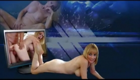 Two Hot Amateurs Play On A Table