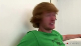 A Busty Redhead Toying Wild
