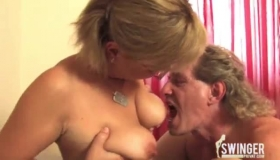 After She Was Done With Sucking Her Agent's Dick, Samantha Saint Got Top Of His Head
