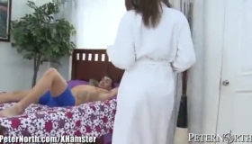 Sexy Cassidy Banks Rides A Pointy Dick