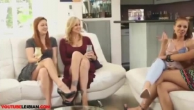 Lesbian Fraternity Girls Going Naughty On Each Other