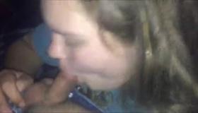 Cum Sucking Blonde Blowing Tube On Webcam