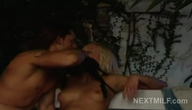 Lusty Blonde Lesbian Babes Eating Pussy In Panties