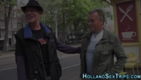 Delicious Dutch Hooker Fucked On Striptease