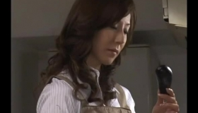 Japanese Milf Was Sucking Her Employer's Dick, Because She Was In Love With Him