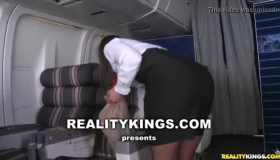 Janelle Brooks Gets Pounded And Facialized While On Holiday