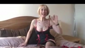 Mature Blonde Woman, Elena Koshka Is Getting Fucked From The Back, After She Was Done With Sucking