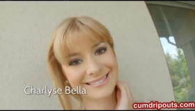 Charlyse Bella Dominates Her Brunette Lesbian Friend With Her Warm Lips