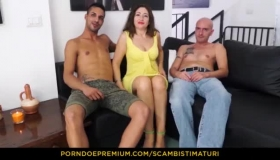 Skinny Italian Brunette, Charlotte Heart Likes To Spice Up Her Sex Life With A Bit Of Dick
