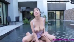 Asian Masseuse Fucked A Customer For Free Because He Liked Asian Ladies A Lot