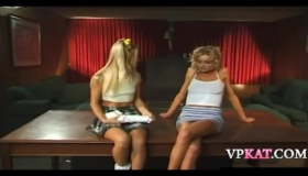 Briana Banks Gets Black On White Lesbo Action