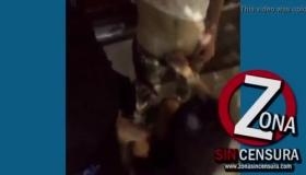 Katrina Jade Gangbanged On Dog Legs In Piss