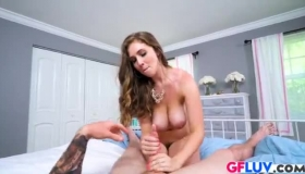 Lena Paul Is Fucking Her Step- Brother, Because She Likes His Hard Dick A Lot