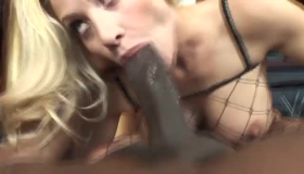 Busty Blonde Is Fucking One Of Her Ex In A Hotel Room, Before Getting A Massage