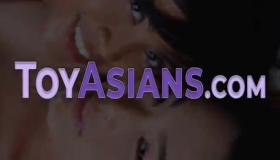 Sweet Asian Fucked From Behind During Massage