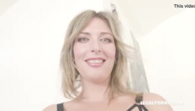 Kinky Blonde Who Likes Sex Toys Is Getting Gangbanged In Her Huge Kitchen, All Day Long