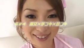 Hot Asian Nurse In Sexy Uniforms Seduces Her Patient
