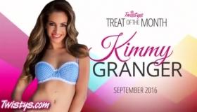 Kimmy Granger Sucking Big Black Cock