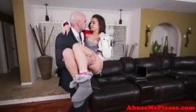 Hot Teen Jacked In Her Wide Open Ass
