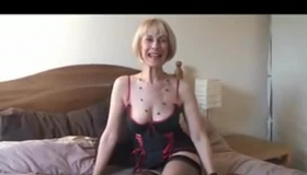 Mature Blonde Woman Desperately Needed Sex As Early As Possible, While She Is In Her Office