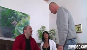 German Mature Gets Seduced By Oral At The Girls House