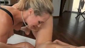 Nasty Teens Are Licking Each Other's Soaking Wet Pussy, While No One Else Is At Home