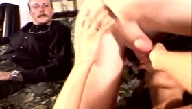 Classy Wife Sucked Her Husband's Dick In Front Of Her Husband And Got Her Very Special Pussy Fucked