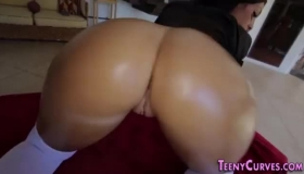 Big Ass Latina Likes To Get Her Partner's Big Tool And To Feel It Inside Her Pussy