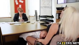 Naked Blonde Got Fucked On The Couch While Her Boyfriend Was Trying To Make A Video Of Her