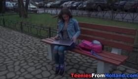 Teen Gets Lesbian Sex On Webcam
