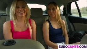 Lindsey Cleo And Chloe Amour Are Giving Pleasure To Each Other While Making Love With Each Other