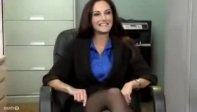 Ava Addams Perky Tits In Red Panties